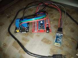 Paket Arduino Nano Modul Bluetooth Relay Ganda