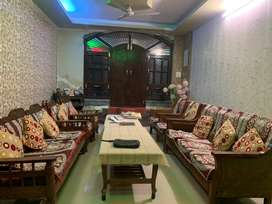 2 Sofa Sets with 2 Tables (5+5 Seats)
