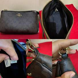 Coach top handle