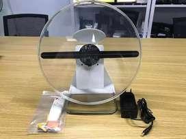 Led fan holowgram 3D use battrey