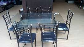 6 seater dining table model 701