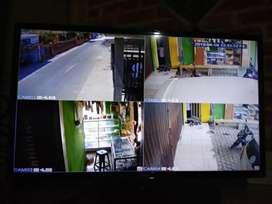Pantau keamanan kamera CCTV 2Mp full HD  bergaransi resmi 1 tahun