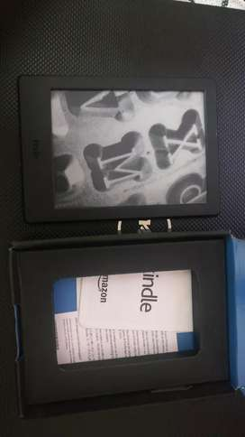 """Kindle E reader 6 """" glare free touch screen"""
