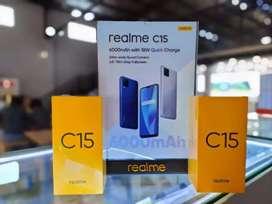 Realme C15  segel 4//64 original