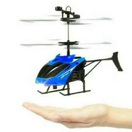 Jual mainan anak helikopter terbang sensor tangan