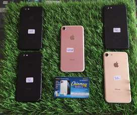 Iphone 7 32gb nd 128gb black gold rosegold all colors available