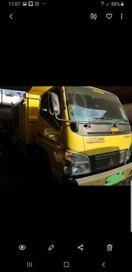 Mitsubishi canter 125 ps fe 74 dump truck
