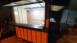 Kontaner booth container dagang