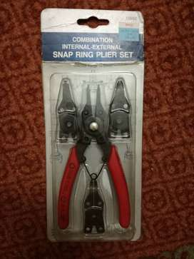 Comination Internal External Snap Ring Plier Set