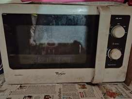 Whirlpool defrost microwave oven