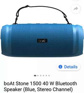 BoAt Stone 1500 40 Watt Bluetooth Speaker