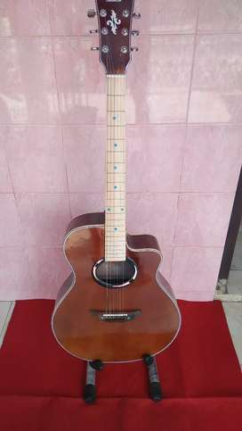 Gitar akustik APX brown