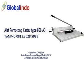 Alat Pemotong Kertas type 858 A3 ToMMo Globalindo