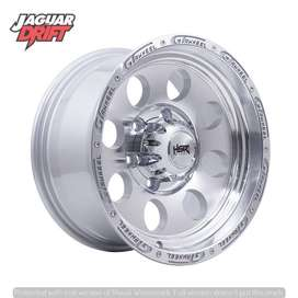 Velg Mobil Ofrod R16 DUFFY Ring 16 Lebar 8 Pcd 6 Dmax, Panther New Dll