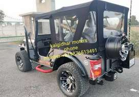 Modified willy silver jeep