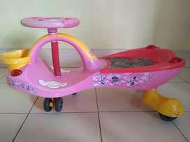 Beautiful pink magic wheel for sweet little girl/boys