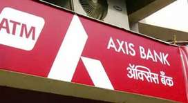 Direct job for Axis bank account