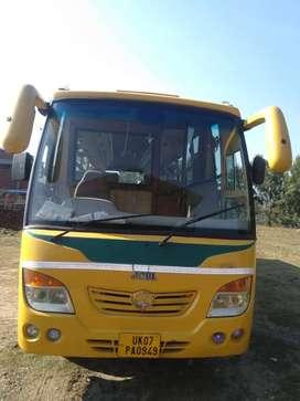 AC School Bus, Swaraj Mazda, Model:2010. 10 year Old