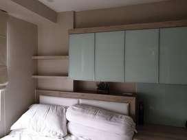 disewakan unit 2br renov jadi 1bedroom full furnish dan luxury bassura