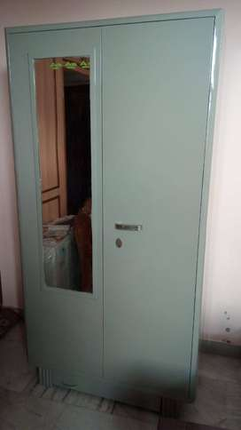 Full 18 guage wardrobe with mirror