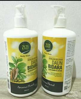Sabun mandi bodywash zizi bidara aroma floral pump 500 ml