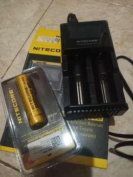 Batre charge nitecore