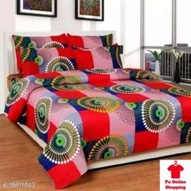 Graceful Stylish Bedsheets  Fabric: Microfiber No. Of Pillow
