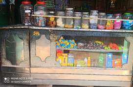 Old Shop counter and shelf racks in best price urgent money required