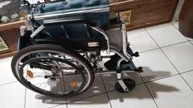 Jual kursi roda bekas avico aluminium