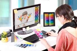 Photoshop, Coreldraw designer