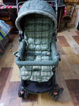 Pram for kids with various features