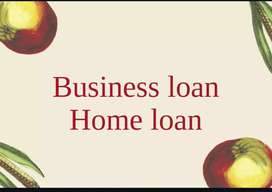 Business loan and Home loan.