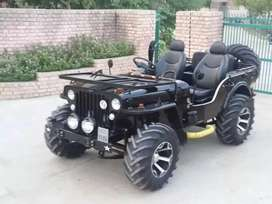 4 Full modified Jeep ready your booking to All States transfer