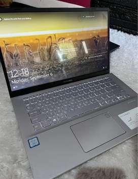 Laptop sultan asus 412F i5 gen8th 512gb ssd 8gb ram baru 6 bulan pake