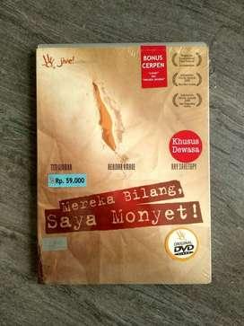 dvd original mereka bilang saya monyet