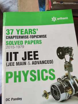 37 years IIT JEE MAIN & ADVANCED SOLVED PAPERS (2015-1979)