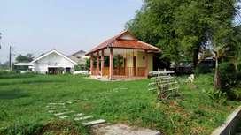 Tanah kavling HOKI : bentuk kantong hadap timur depan taman bawa HOKI!