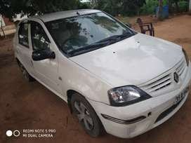 mahindra logan... ceal tyres.. full condition with ac nd dvd couch