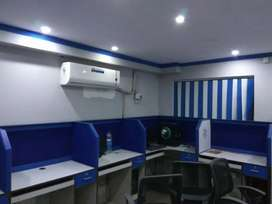 Fully furnished office spase available in rajarhat new town area