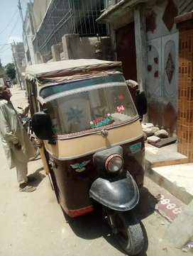 Sazgar rickshaw 6 seater model 2011 for sell urgent