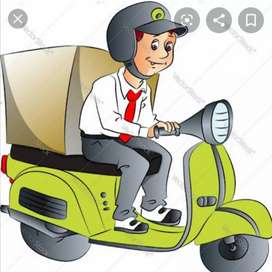Delivery boy in flipkart