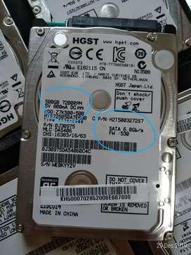 Hdd HGST 500Gb 6Gb/s 7200 rpm setara SSD