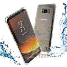 Case Galaxy S8 & S8+ Anti Crack Silicone Clear New