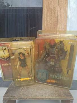 Action figure legenda the mighty and goliath (set)