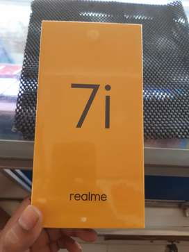 Baru Reame 7i ram8/128gb biru kutub garansi resmi