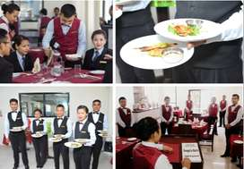 Hotels,Hostess Waiter, Bartender, Room Service,Housekeeping