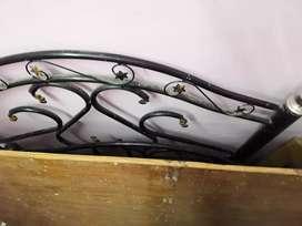 Steel detachable bed