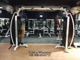 Complete new gym equipment machine  setup manufacturer up based.