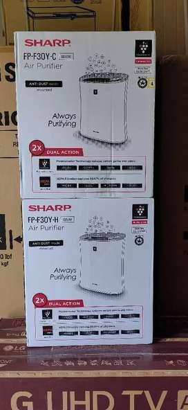 Air Purifier sharp f30y 21m2 ion plasmacluster generator hepa filter