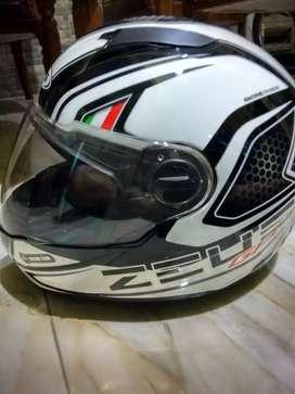 Jual cepat dan murah helm fullface ZEUS